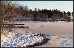Boathouses (mmoborg) Tags: mmoborg boathouses winter sweden