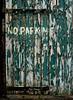 No Parking in front of the green door. (Rogpow) Tags: cornwall kenidjack door green flakingpaint decay derelict ruin flaky peelingpaint peeling classicchrome greendoor