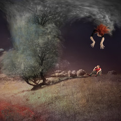 tree as cloud (old&timer) Tags: background infrared filtereffect composite surreal song4u oldtimer imagery digitalart laszlolocsei