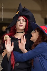 IMG_8883-1 (Mambrelli Marco Ph) Tags: littlewitchacademia streghe strega witch anime cosplay cosplayer palazzopfanner villapfanner luccaocmics lucca fantasy magia atsuko akko chariot ursulacallistis callistis shinychariot ursula croixmeridies croix atsukokagari