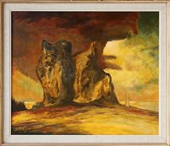 2013-01-03-1422N (OK Gallery) Tags: painting gotland sweden sverige oddkhauge yourgotlandphotos group