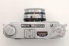 Rank Mamiya C4 (pho-Tony) Tags: photosofcameras rankmamiyamamiyac4 mamiya c4 mamiyac4 japan rangefinder selenium compact 35mm mamiyasekkor sekkor 128 f28 40mm f40mm film analog analogue vintage rankmamiya ruby sekor mamiyasekor
