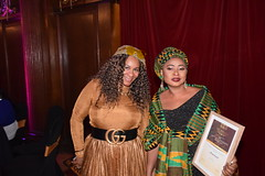 DSC_6965 Black British Entertainment Awards BBE Dec 2017 at Porchester Hall London by Jean Gasho Co Founder of BBE with Nicole from Philadelphia and Maria Lovell CEO of The Ghana Society UK and Miss Tourism Ghana UK (photographer695) Tags: black british entertainment awards bbe dec 2017 porchester hall london by jean gasho co founder nicole from philadelphia with maria lovell ceo the ghana society uk miss tourism