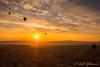 Morning Ride (Mike Gabelmann) Tags: balloons cappadocia color colour europe goreme orange sunrise turkey