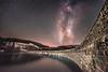 Milky Way over  Garreg Ddu Dam (Nathan J Hammonds) Tags: milky way elan valley stars night photography astro garreg ddu dam wales uk dark skies sky nikon d750 irex 15mm f24 lightroom long exposure