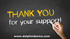 Thank you for your support Chalk Illustration (pksingh_family) Tags: thankyou thanks help support donation clients customers business appreciation communication dialog graphic grateful gratitude expression greeting kind slogan hand handwritten handwriting drawing chalk chalkboard blackboard crayon canada