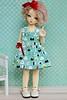 New dress (Luthigern) Tags: bjd soom yrie yosd teenie gem tiny doll dress