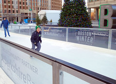 Wishing you the Merriest Christmas, my friends, from my home to yours! (brooksbos) Tags: brooks brooksbos boston cityhall plaza public portrait skater youth skating outdoors fun winter holidays geotagged massachusetts newengland bostonwinter joy happiness smile smiling