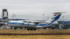 Ilyushin Il-76TD-90VD RA-76950 Volga-Dnepr (William Musculus) Tags: ra76950 volgadnepr ilyushin il76td90vd basel mulhouse airport euroairport bsl mlh eap lfsb spotting