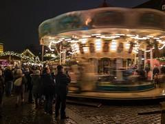 Kiel Weihnachtsmarkt 2017 (Siebbi) Tags: kiel weihnachtsmarkt weihnachten christmas christmasmarket germany light lichtnight nacht bewegungsunschärfe motionblur carousel merrygoround
