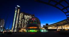 San Jose City Hall (Bob Nastasi) Tags: sanjose christmaslights christmas red green downtown california d800e bobnastasi