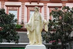 Cadix (hans pohl) Tags: espagne andalousie cadix statues monuments architecture art