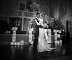 First dance - Louisa & Paul (johnnewstead1) Tags: wedding weddingday weddingphotographer weddingphotography norfolkwedding norfolkweddingphotographer norfolk norwich assesmblyhouse blackwhite blackandwhite monochrome olympus em1 mzuiko johnnewstead simonwatsonphography