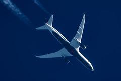 Air Canada Boeing 787-900 C-FSBV (Thames Air) Tags: air canada boeing 787900 cfsbv contrails telescope dobsonian overhead vapour trail