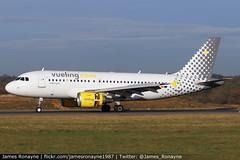 EC-MIR   Airbus A319-112   Vueling (james.ronayne) Tags: ecmir airbus a319112 vueling aeroplane airplane plane aircraft jet jetliner luton ltn eggw canon 80d 100400mm raw