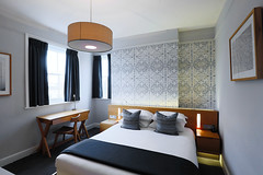 Standard Double Room (Malmaison Hotels & Brasseries) Tags: funky hotel leeds malmaison neon tourism travel