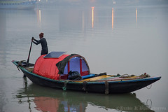 The Boatman (pkbhat_20032003) Tags: kolkata outramghat boatman hooghlyriver