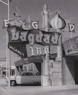 Bagdad Inn Motel - Las Vegas - Sign by Electrical Products Corporation of Los Angeles - 1955