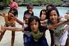 Berenang bersama anak lokal Sumba Barat di Danau Waikuri (Pcsyafira) Tags: fujifilm xa2 1650mm sumba ntt humba ailulu pantai danau indonesia tropical island nature landscape