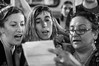 Lectura de la proclama denunciando el feminicidio de Mirtha Machado (efdiversas) Tags: alerta feminista proclama