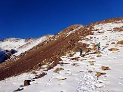 Into sunlight on the trail to Tizi Aguelzim (markhorrell) Tags: morocco highatlas atlasmountains aguelzim