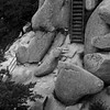 울산바위 (ss9679) Tags: 6x6 120 korea southkorea ulsanbawi seoraksan sokcho 설악산 울산바위 hasselblad mediumformat monochrome mittelformat 500cm zeiss carlzeiss cf 150mm film analog landscape asia nosky hc110 kodakhc110 epson4180 ilford ilfordhp5400 hp5 pushedfilm 800 square rocks stairs trees filmdev:recipe=11606 film:brand=ilford film:name=ilfordhp5400 film:iso=800 developer:brand=kodak developer:name=kodakhc110