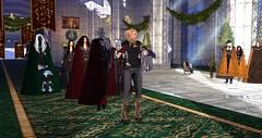 Avilion Nexus - Lady Rhona's Knighting ceremony (Osiris LeShelle) Tags: secondlife second life avilion nexus medieval fantasy roleplay combat community knight knights knighting ceremony rhona camelot official gathering