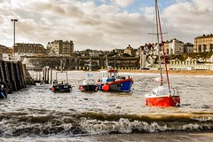 busy sea (philbarnes4) Tags: broadstairs thanet kent england vikingbay beach philbarnes dslr nikond5500 sea seaside