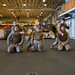 U.S. Marines with the 15th Marine Expeditionary Unit participate in martial arts training aboard the USS America