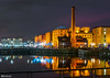 Pump House (Bob Edwards Photography - Picture Liverpool) Tags: albertdock canningdock pumhouse pub bar tower liverpool merseyside night longexposure bobedwardsphotography evening bluehour lights reflection water river waterfront