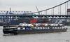 Verkehr (Rolf Piepenbring) Tags: traffic verkehr schiff ship rhein rhine nordrheinwestfalen northrhinewestphalia krefelduerdingen krefeld nrw germany