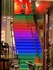 Rainbow stairway (libra1054) Tags: rainbow arcobalero arcoiris arcenciel arcoíris regenbogen treppe scala escalera escalier escada colored colorado colorato colorido colorê stairways