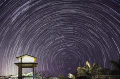 Star Trails Photography at Lonavla, Maharahstra