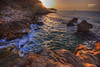 (865/17) El despertar (Pablo Arias) Tags: pabloarias photoshop photomatix capturenxd españa cielo nubes mar agua mediterráneo roca olas isla playadelosestudiantes villajoyosa alicante