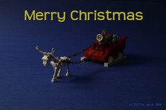 Merry Christmas (dr_spock_888) Tags: lego moc nightmare before christmas jack santa claus sleigh