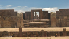 Kalasasaya Temple - Tiwanaku (Leonardo V Barbosa) Tags: kalasasaya temple tiwanaku tiahuanaco bolívia cartrip roadtrip adventure exploring expedition archaeologicalsite