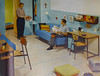 Dorm Line by Simmons, 1952 (army.arch) Tags: 1952 dormitory furniture simmons dormline interior design decorating