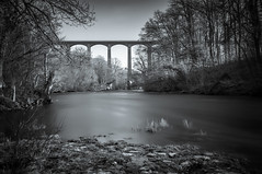Pontcysyllte Aqueduct (Alan E Taylor) Tags: arch atmospheric bw blackwhite blackandwhite bridge countryside cymru dark dramatic europe fineart froncysyllte le leebigstopper lightroom llangollencanal longexposure macphun macphuntonalityck mono monochrome noiretblanc river riverdee skylum tourism tourist travel tree uk unitedkingdom wales water welsh britain british gb