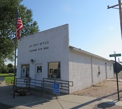 Post Office 82221 (La Grange, Wyoming) (courthouselover) Tags: wyoming wy postoffices goshencounty lagrange greatplains