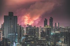 DSC_0831 P (CueiMo) Tags: 101 taiwan taipei night firework city d750 newyear 2018
