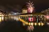 2018 Neujahr Luzern (fotojaps) Tags: 2018 gitzo kapellbrücke fujifilmxt2 xc1650mmf3556ois kantonluzern feuerwerk laternen
