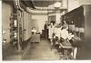 Monticello, IL Telephone Operator Room on Charter & Main 1920s (RLWisegarver) Tags: piatt county history monticello illinois usa il