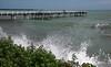 Super moon King Tide Scarness jetty Qld (John Wiley) Tags: supermoon seq coast scarness queensland tide