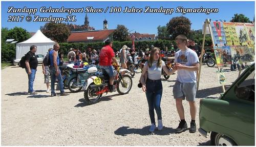 Zundapp Gelandesport Show / 100 Jahre Zundapp Sigmaringen 2017