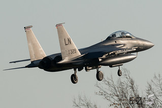 91-0329 United States Air Force McDonnell Douglas F-15E Strike Eagle