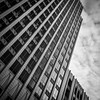Architecture (tim.perdue) Tags: lines architecture geometric monochrome skyscraper building pattern repetition office sky clouds angle downtown urban city columbus ohio fifth third bank tower 53 high street square black white b7w