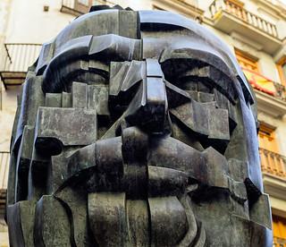 Head Sculpture - Valencia (Fujifilm X100F 23mm f2 Compact) (1 of 1)