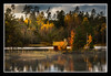 Beautiful Autumn Colors (Olof Virdhall) Tags: autumn lakeside lake water color colorful house mist canon eos5 mkiii olofvirdhall