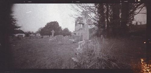Avebury cemetery - salt print version