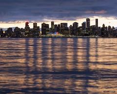 Across The Inlet (Clayton Perry Photoworks) Tags: vancouver bc canada northvancouver explorebc explorecanada dock burrarddrydock christmas skyline canadaplace city night lights